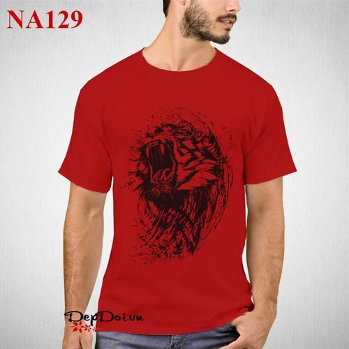 Áo phông nam black tiger na129