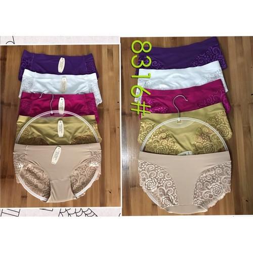 Bộ 10 quần lót su pha ren sexy 8316