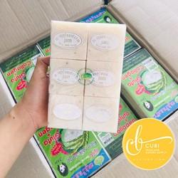 Combo 1 lốc 12cục xà phòng cám gạo JAM Thái Lan