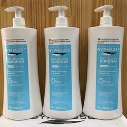 Sữa tắm dạng gel dành cho da thường và da khô Byphasse 1000ml Tây Ban Nha (Mua 1 tặng 1 cục xà bông gạo Thái giá 20k)