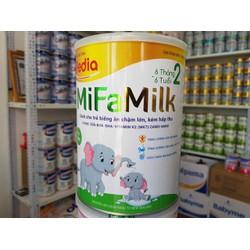 Mifa pedia sữa dành cho trẻ biếng ăn và kém hấp thu