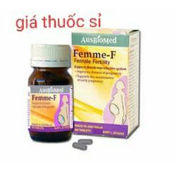 FEMME F hỗ trợ sức khoẻ sinh sản phụ nữ