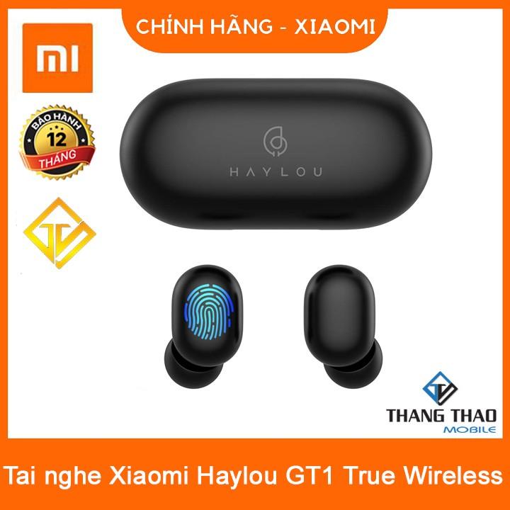 Tai nghe Bluetooth True Wireless - Xiaomi Haylou GT1 chống nước chuẩn IPX5,nút cảm ứng, đàm thoại - Xiaomi Haylou GT1