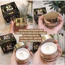 kem siêu dưỡng trắng 4k plus - k4k-1