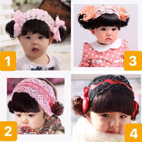 Băng đô tóc giả cho bé 0-3 tuổi - 19634859 , 24741905 , 15_24741905 , 110000 , Bang-do-toc-gia-cho-be-0-3-tuoi-15_24741905 , sendo.vn , Băng đô tóc giả cho bé 0-3 tuổi