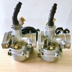 [Mầu Xanh combo 2 chiếc] Bộ chế hoà khí xe máy dr - wave  động cơ 100-110