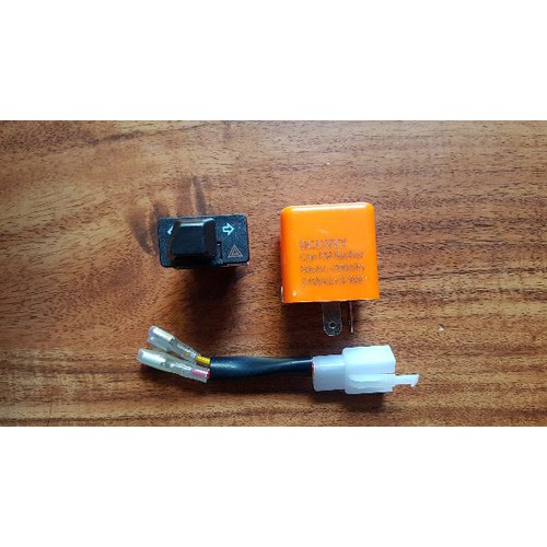 Combo công tắc chế độ hazad và chớp điện tử có nút điều chỉnh - 19637147 , 24744473 , 15_24744473 , 95000 , Combo-cong-tac-che-do-hazad-va-chop-dien-tu-co-nut-dieu-chinh-15_24744473 , sendo.vn , Combo công tắc chế độ hazad và chớp điện tử có nút điều chỉnh