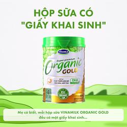 Sữa bột organic Gold số 1 350g