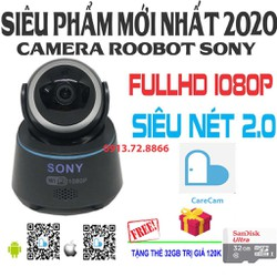 Camera Sony Wifi Full HD 1080P Tặng Thẻ 32Gb