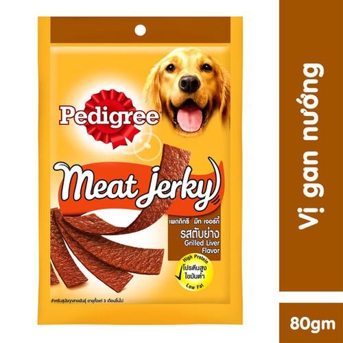 Thức ăn vặt cho chó pedigree meat jerky vị gan nướng 80g tv - 19638579 , 24746103 , 15_24746103 , 38000 , Thuc-an-vat-cho-cho-pedigree-meat-jerky-vi-gan-nuong-80g-tv-15_24746103 , sendo.vn , Thức ăn vặt cho chó pedigree meat jerky vị gan nướng 80g tv
