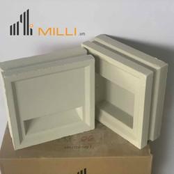 Gạch chắn mưa thông gió trắng Milli - M01