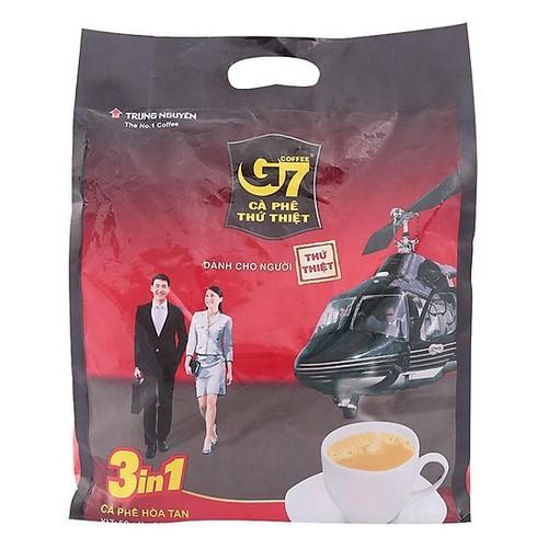 Cà phê hòa tan g7 3in1 túi 800g - 50 gói x 16g - 19252882 , 24775552 , 15_24775552 , 145000 , Ca-phe-hoa-tan-g7-3in1-tui-800g-50-goi-x-16g-15_24775552 , sendo.vn , Cà phê hòa tan g7 3in1 túi 800g - 50 gói x 16g