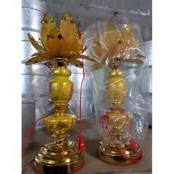 Đèn thờ hoa sen vàng- Hàng đẹp- Chất lượng cao