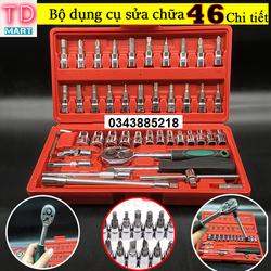 Bộ dụng cụ mở ốc, vít - Bộ Dụng Cụ sửa chữa đa năng 46 chi tiết