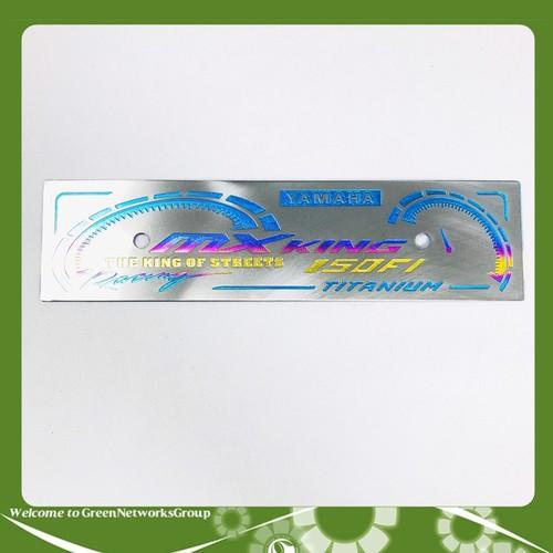 Bảng tên xe máy titan - mx king - bảng tên titanium - 19660768 , 24773518 , 15_24773518 , 159000 , Bang-ten-xe-may-titan-mx-king-bang-ten-titanium-15_24773518 , sendo.vn , Bảng tên xe máy titan - mx king - bảng tên titanium