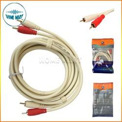 dây loa AV 4 đầu - dây av 2 ra 2 Choseal dài 1.8m