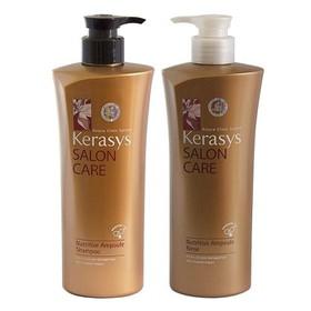 Dầu Gội Xả Kerasys Salon Care Nutritive Ampoule Đồng 600ml - Dầu gội Kerasys
