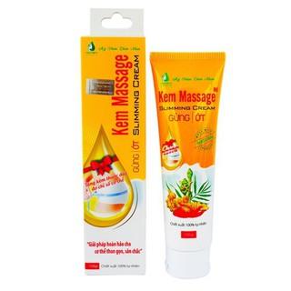 Kem massage tan mỡ Slimming Cream gừng ớt 100 tự nhiên - 427 thumbnail