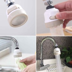 [GIẢM TỚI 30K PVC]Vòi xịt rửa bát tăng áp xoay 360- XẢ NƯỚC CỰC MẠNH