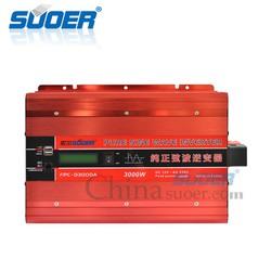 Inverter sin chuẩn 3000w 12v SUOER có màn hình hiển thị