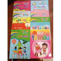 10 tập tô cho bé chủ đề khác nhau