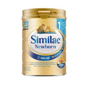 Sữa bột Similac Newborn IQ Plus HMO 1 900g - Similac Newborn IQ HMO 1