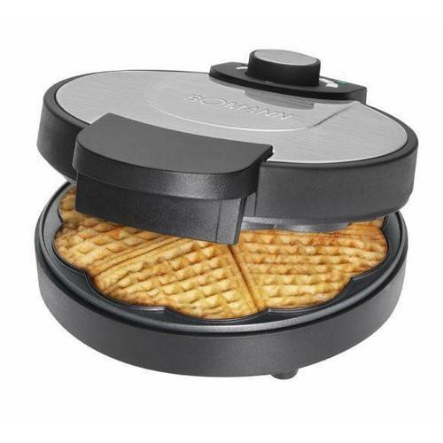 Máy nướng bánh waffle bomann khuôn hình tổ ong