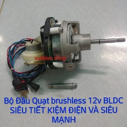 Bộ Đầu Quạt brushless 12v BLDC