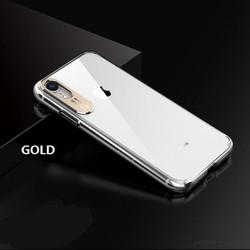 Ốp lưng iPhone bảo vệ Camera - Trong suốt - Viền nhựa dẻo -  Mặt lưng nhựa cứng, không bị vàng ố - Ốp lưng iPhone - 5S - 6S- 7 - 8 - Plus - XS Max - 11 Pro Max