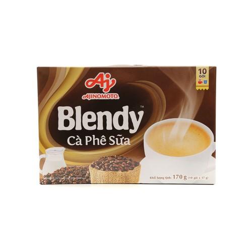 Cà phê sữa ajinomoto blendy hộp 170g - 10 gói x 17g - 19387413 , 24815429 , 15_24815429 , 36000 , Ca-phe-sua-ajinomoto-blendy-hop-170g-10-goi-x-17g-15_24815429 , sendo.vn , Cà phê sữa ajinomoto blendy hộp 170g - 10 gói x 17g
