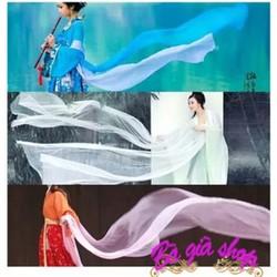 Phụ kiện trang phục cổ trang khăn phi bạch khăn lụa cổ trang nhiều màu