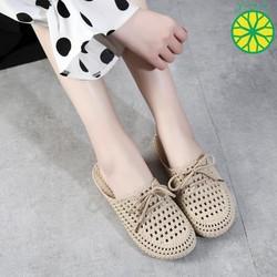 Dép sandal đế dẻo đan dây siêu hot Tawana form nhỏ tăng 1 size D6