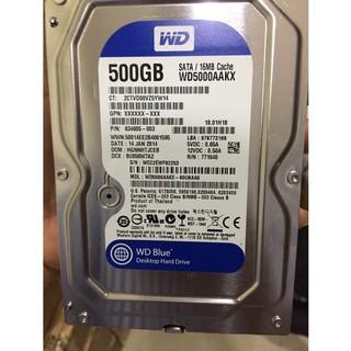 Ổ cứng HDD western blue 500Gb hàng nhập - Ổ cứng 500GB _01448 thumbnail