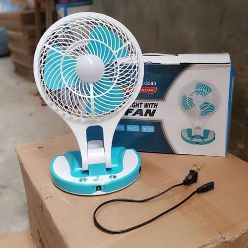 Quạt tích điện 5580 mini fan 2 in 1 gấp gọn - 19692938 , 24813398 , 15_24813398 , 149000 , Quat-tich-dien-5580-mini-fan-2-in-1-gap-gon-15_24813398 , sendo.vn , Quạt tích điện 5580 mini fan 2 in 1 gấp gọn