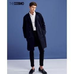 Áo khoác nam THE COSMO TC1023059NA màu xanh