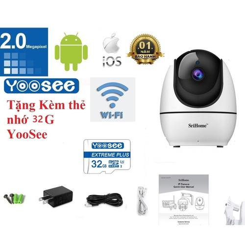 [Tặng thẻ nhớ 32g yoosee ] camera srihome sh026 wifi 1080p không dây hd 2.4g thông minh mạng ip phích cắm au - 19713937 , 24839094 , 15_24839094 , 700000 , Tang-the-nho-32g-yoosee-camera-srihome-sh026-wifi-1080p-khong-day-hd-2.4g-thong-minh-mang-ip-phich-cam-au-15_24839094 , sendo.vn , [Tặng thẻ nhớ 32g yoosee ] camera srihome sh026 wifi 1080p không dây hd 2.