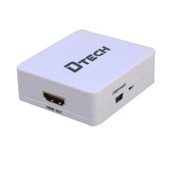 Bộ thiết bị Dtech DT-6527 VGA to HDMI Hàng chính hãng