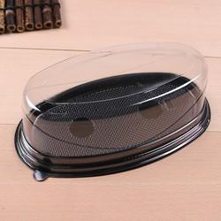 Hộp nhựa nắp chụp hình oval XY79 21x10x7cm 10 HỘP