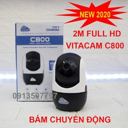 CAMERA VITACAM C800 2Mpx- full hd1080 Công Nghệ AI thông minh.