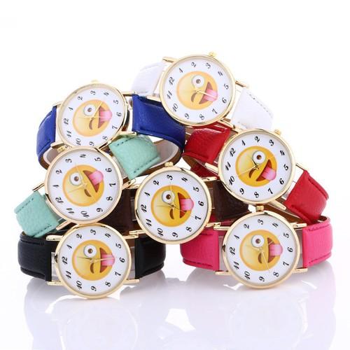 Đồng hồ đeo tay hình mặt cười - 19724622 , 24852511 , 15_24852511 , 48000 , Dong-ho-deo-tay-hinh-mat-cuoi-15_24852511 , sendo.vn , Đồng hồ đeo tay hình mặt cười