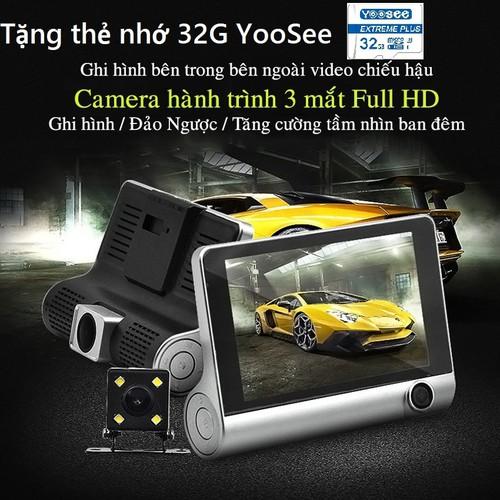 [ tặng thẻ nhớ 32g yoosee ] camera hành trình ô tô 3 mắt camera, màn hình 4 inh full hd 1080, camera xe hơi , camera hành trình otofun , camera hành trình nhật bản 2 cam trước sau cho ô tô - hình ảnh  - 19727630 , 24856349 , 15_24856349 , 700000 , -tang-the-nho-32g-yoosee-camera-hanh-trinh-o-to-3-mat-camera-man-hinh-4-inh-full-hd-1080-camera-xe-hoi-camera-hanh-trinh-otofun-camera-hanh-trinh-nhat-ban-2-cam-truoc-sau-cho-o-to-hinh-anh-chan-thuc-chuyen