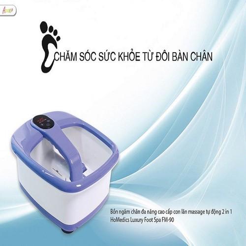 Bồn ngâm chân-bồn ngâm chân đa năng cao cấp con lăn massage tự động 2 in 1 homedics luxury foot spa fm-90 - 19735205 , 24865493 , 15_24865493 , 2850000 , Bon-ngam-chan-bon-ngam-chan-da-nang-cao-cap-con-lan-massage-tu-dong-2-in-1-homedics-luxury-foot-spa-fm-90-15_24865493 , sendo.vn , Bồn ngâm chân-bồn ngâm chân đa năng cao cấp con lăn massage tự động 2 in