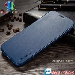 Bao da Samsung Galaxy Note 8 SM-N950 nắp gập 2 mặt bảo vệ điện thoại - Ốp lưng 2 mặt Samsung Note 8 chất liệu da cao cấp - Bao Fib - Xlevel