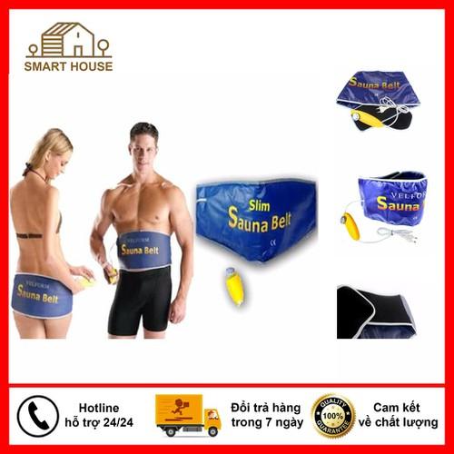 Đai massage giảm mỡ bụng đai nóng sauna belt