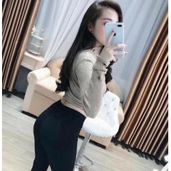 quần legging độn mông