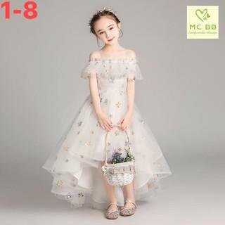 Đầm công chúa dạ hội kim sa ngôi sao