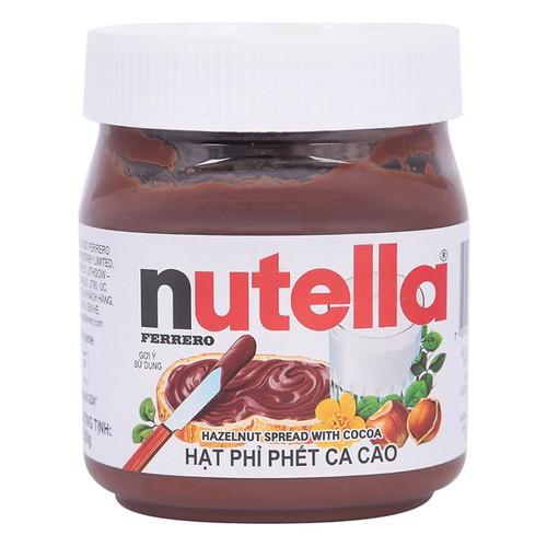 Bơ hạt phỉ phết cacao nutella 200g