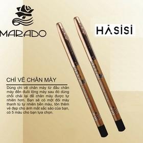 Combo 02 Chì Mày Chuốt- KISS KISS - Marado Eyebrow Pencil - 2501056