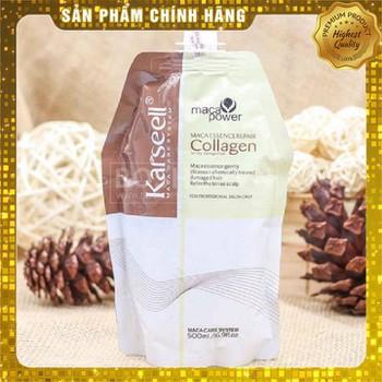 Combo 2 Ủ Hấp Dưỡng Tóc Collagen Karsell Siêu Mềm Mượt 500ml