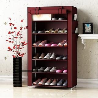 Kệ tủ vải để giày 7 tầng 6 ngăn - Kệ tủ vải để giày - Kệ tủ vải thumbnail